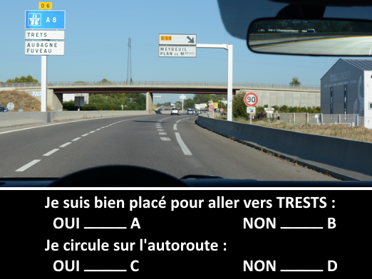 Question tests examen code de la route 2016 exemple 1