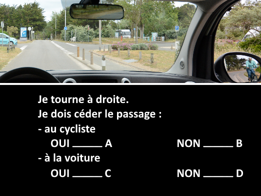 Question tests examen code de la route 2016 exemple 4