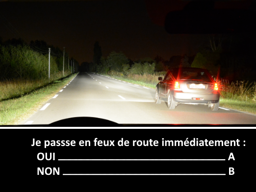 Question tests examen code de la route 2016 exemple 2